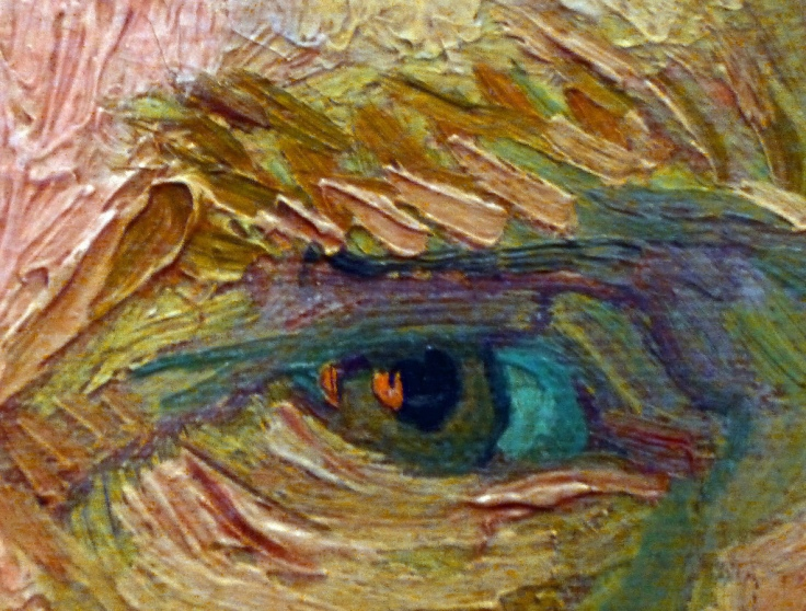 Close up VanGogh